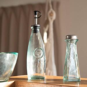【特価品】リサイクルガラス ボテラオイルボトル 285cc[B品]【ガラス】[スペイン製/洋食器]
