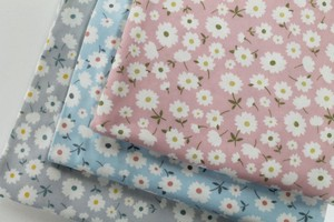 Fabric 3 Colors LE DEPART smooth Knitted Made in Japan