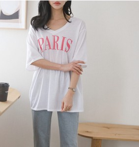 [2021 New Product] PARIS V-neck Cut And Sewn
