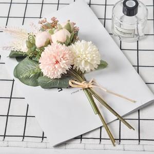【ミニブーケ2個セット 4色】ダリア 結婚式 前撮り フォトウエディング 撮影 花束 造花