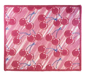 Antibacterial Deodorization Water Absorption Fast-Drying Compact Bath Mat Cherry