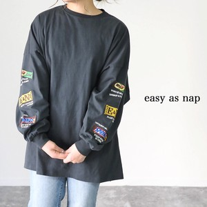 Chocolate Embroidery Big Long T-shirts