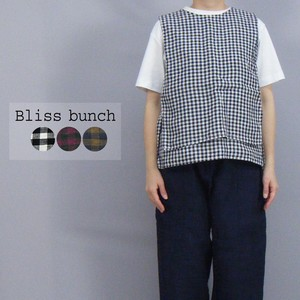 [2021 New Product] Linen Plain-woven Gingham Check Layard Sleeve