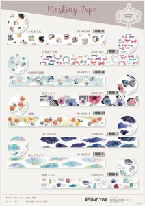 Round Top Washi Tape INSOMINIA DESIGN