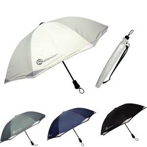 《リフレクション傘》晴雨兼用 遮熱,遮光長傘【UPF50+】反射機能,軽量コンパクト長傘