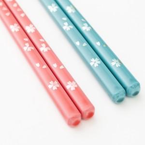 食洗機対応■箸単品■パステル桜【グリーン23cm、ピンク21cm】/若狭塗箸(日本製) 売れ筋
