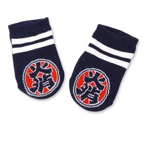 【 火消魂 HiKESHi SPiRiT 】火消柄ベビー靴下 ベビー 靴下