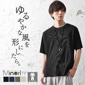 Pleat Big Short Sleeve Mino