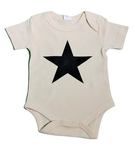 Organic Cotton 100 colored Reflector Print Baby Suits