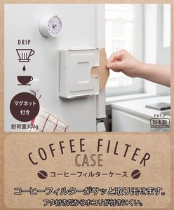 Coffee Filter Case Storage