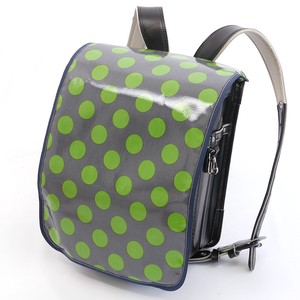 Limit School Bag Cover Gray Lime Dot Admission Admission