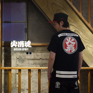 【 火消魂 HiKESHi SPiRiT 】OD 火消Tシャツ メンズ 半袖