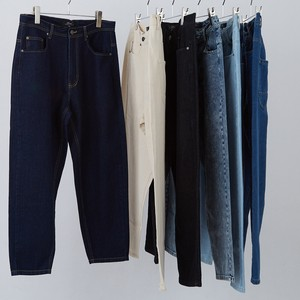 20 S/S Balloon Silhouette Ankle Tapered Denim Pants