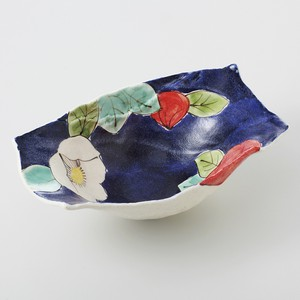 Gift Hand-Painted type Bowl Plates Mino Ware Made in Japan