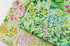 Fabric 2 Colors Made in Japan Southern Cross 100% Floral Pattern 20