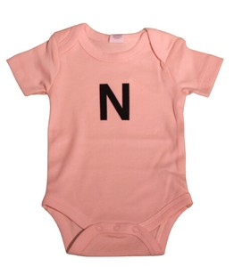 colored Organic Cotton 100 5 Colors Initial Baby Suits