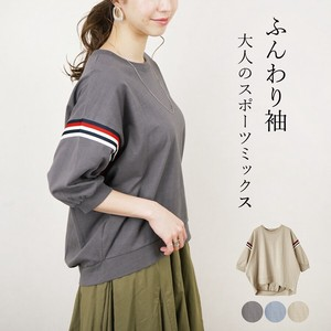 [2021 New Product] Tricolour Tape Half Length Pullover myke