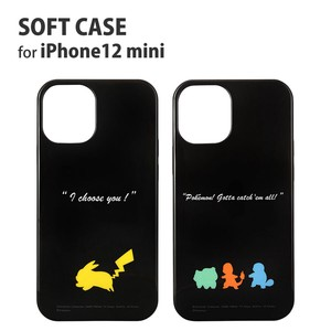 Pocket Monster iPhone soft Case