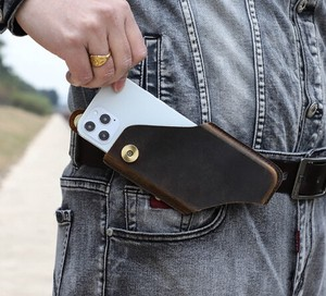 Convenient Belt Attached Mobile Phone Cover Wearing B5