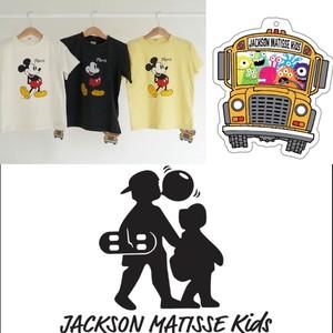【予約販売】Mickey Paris SS Tee<キッズ Tシャツ>