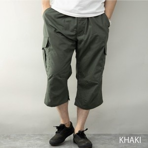 Cargo Pants Men's Cropped Three-Quarter Length Outdoor Good