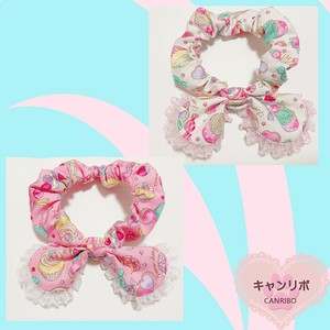Wide Scrunchy Collar Sweets