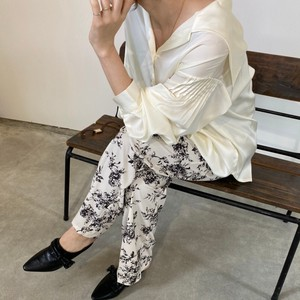 Relax Floral Pattern Pants