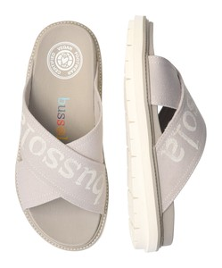 20 US SO Foot Bed Print Sandal