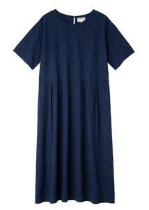 【2021年春夏新作】手織りジャカードボクシードレス