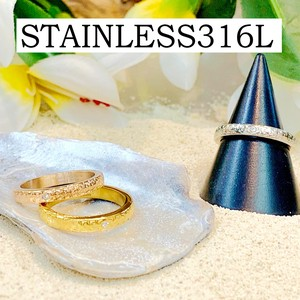 Mount Attached Stainless Hawaiian Jewelry Stainless Ring