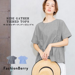 Gather Stripe Pullover 20