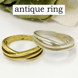 Mount Attached Brass Ring Nickel Free Antique Color Antique Ancient Ancient