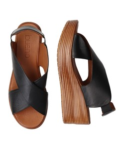 20 Round Thick-soled Closs Belt Sandal