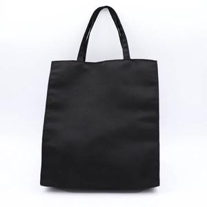 グログランブラックフォーマル用手提げバッグ