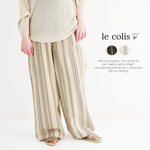 Cotton Multi Stripe Pants