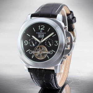 20 Leather Mechanical Men's Watch