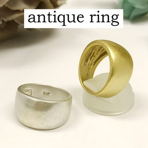 Mount Attached Brass Ring Nickel Free Antique Color Ring Antique Ancient Ancient