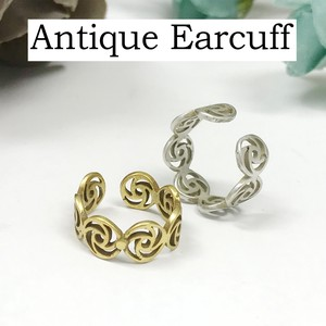 Mount Attached Brass Ear Cuff Nickel Free Antique Color Antique