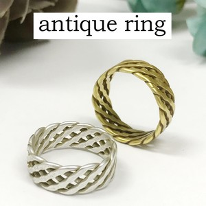 Mount Attached Brass Ring Nickel Free Antique Color Ring Ancient Ancient