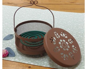 Deux Mosquito Coil Stand Flower Regular Brown