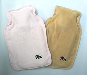 クールピローS パンダ刺繍枕カバー【氷まくら】夏の必需品/冷んやり涼しく快適/安眠/クーラー要らず
