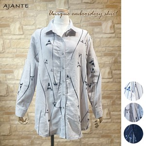 20 Cotton 100 Embroidery Roll Shirt
