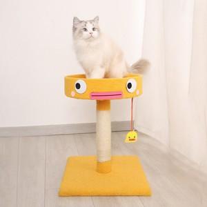 猫用爪とぎ つめとぎ 爪とぎポール 小型キャットタワー ペット用品