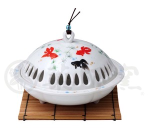Incense Burner Goldfish Mosquito Coil Stand
