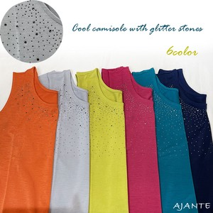 20 6 Colors Glitter Stone Attached Cool Camisole
