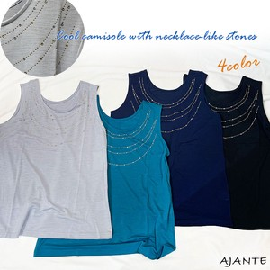 20 4 Colors Necklace Stone Attached Cool Camisole