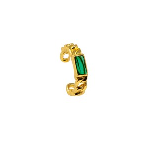 GREEN GOLD Ear Cuff