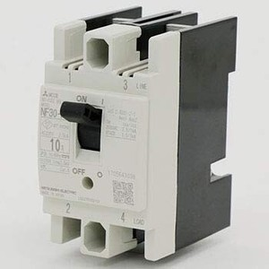 NF30-FA 2P 10A(制御盤用ノーヒューズ遮断器) (2極) (AC/DC) NN
