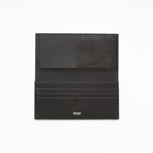 【SEEGER】長財布【日本製】Zeus Long wallet Black