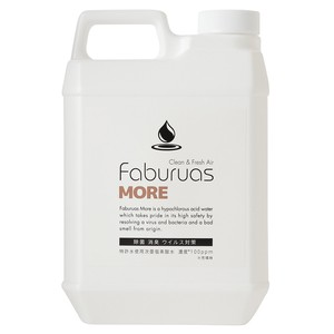 ファビュラスモア 2L詰替(濃度100ppm)次亜塩素酸水 除菌